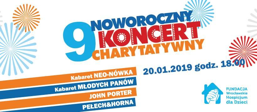 Noworoczny Koncert Charytatywny Wrocławskiego Hospicjum dlaDzieci