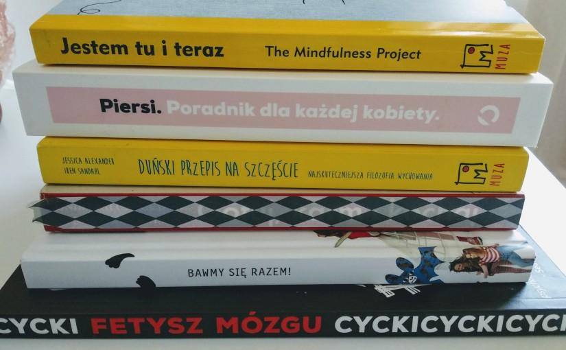 Książkowa rozdawajka.  6 książek dowyboru.