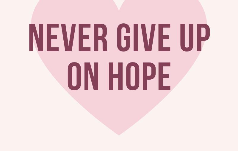 Nadzieja jest bardzoważna.